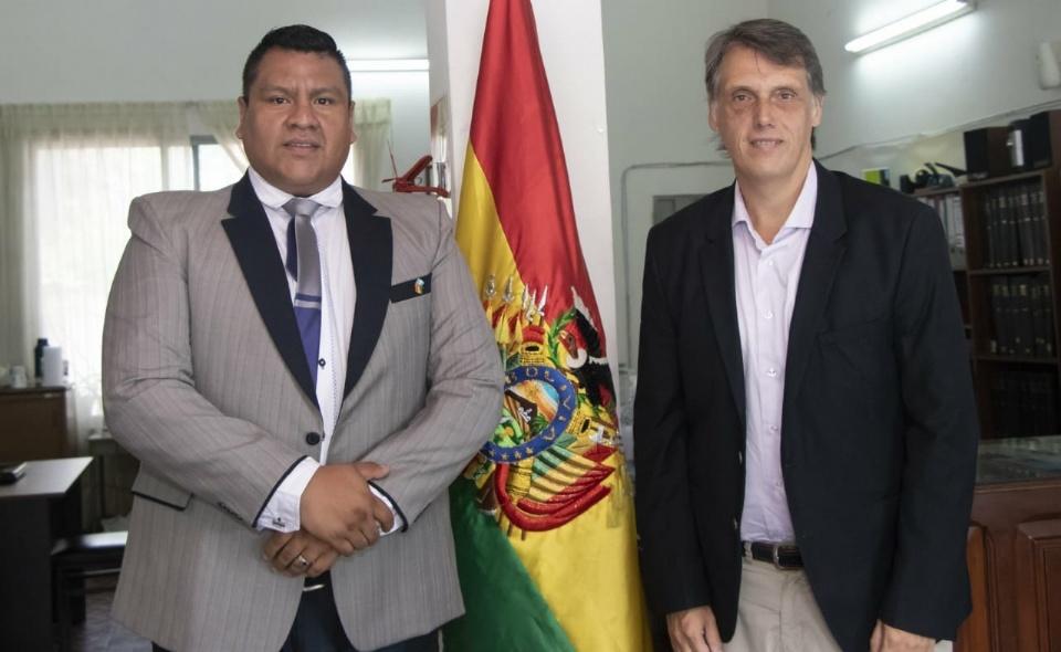 Kosiner se comprometió a continuar fortaleciendo el vínculo con Bolivia