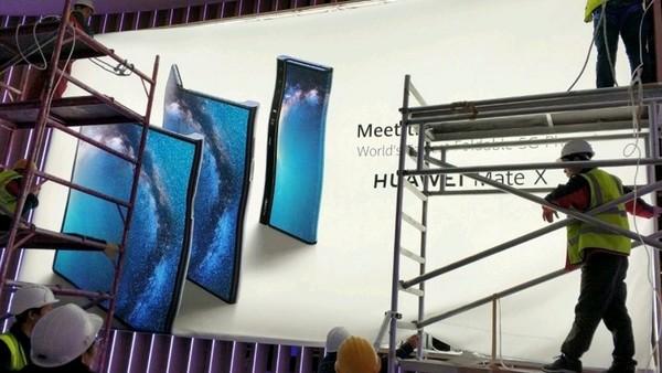 Así será Huawei Mate X, el teléfono plegable que competirá con el Galaxy Fold