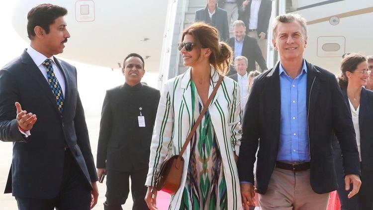 """Macri a los empresarios: """"tienen que venir a buscar socios y a vender trabajo argentino"""""""