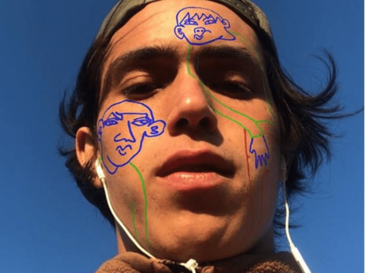 Tokyyto tiene 22 años, es argentino y crea filtros que son furor en Instagram y Facebook
