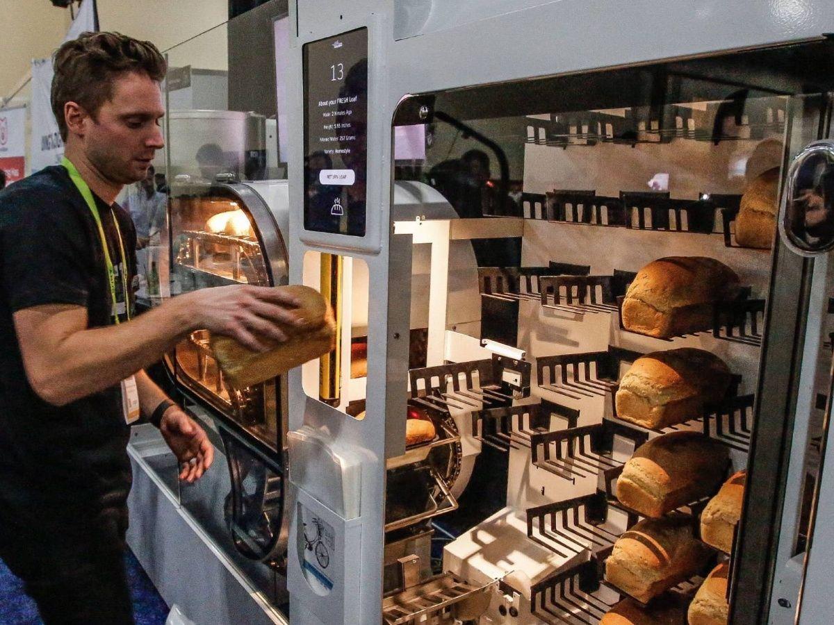 """Cómo funciona el """"robot panadero"""" que podrá abastecer al supermercado y al ejército norteamericano"""