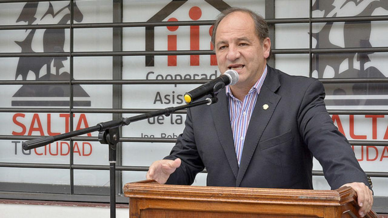 Villada respaldó a Sáenz y alentó su candidatura a gobernador