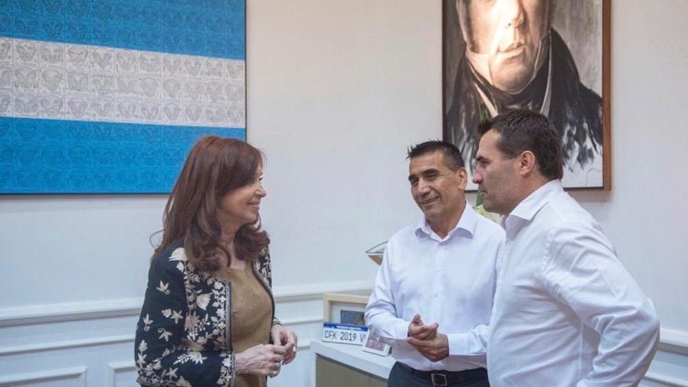 La ex presidenta Cristina Fernández de Kirchner apoya a Rioseco para las elecciones