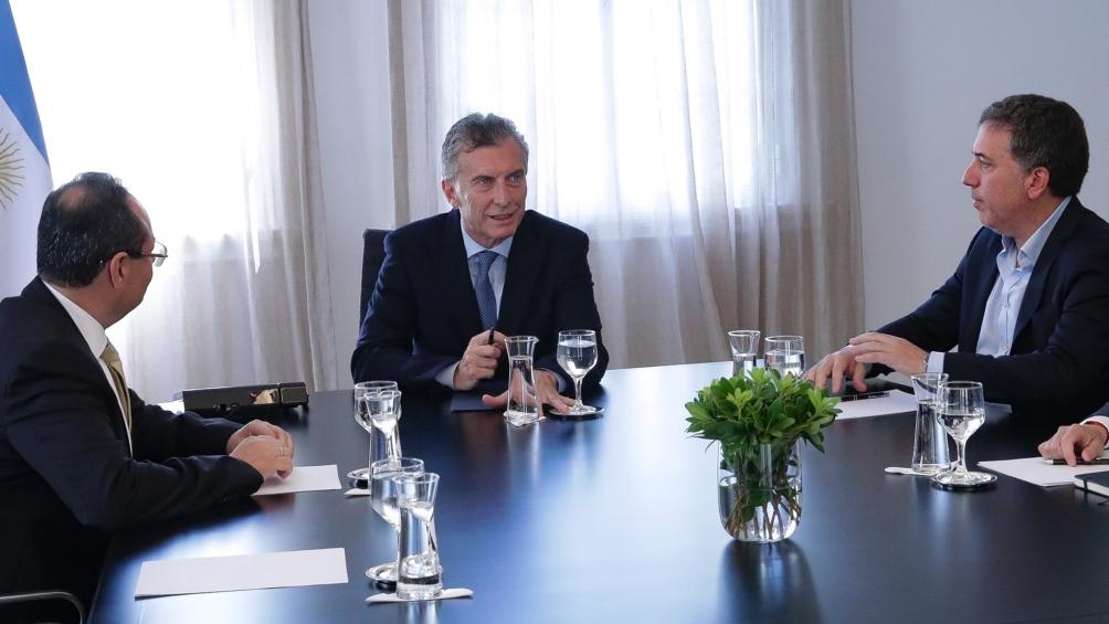 Macri recibió al titular del Banco de Desarrollo de América Latina y de la CAF