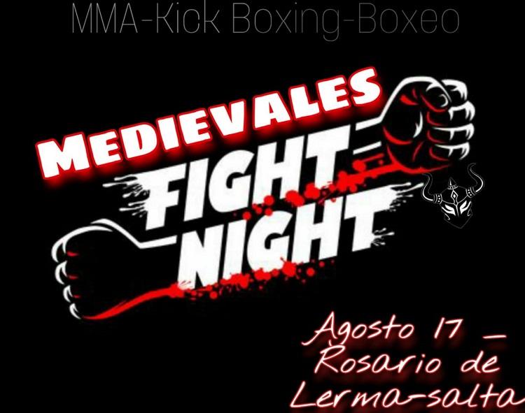"""Hoy se desarrollará el """"Medievales Fight Night"""" en Rosario de Lerma"""