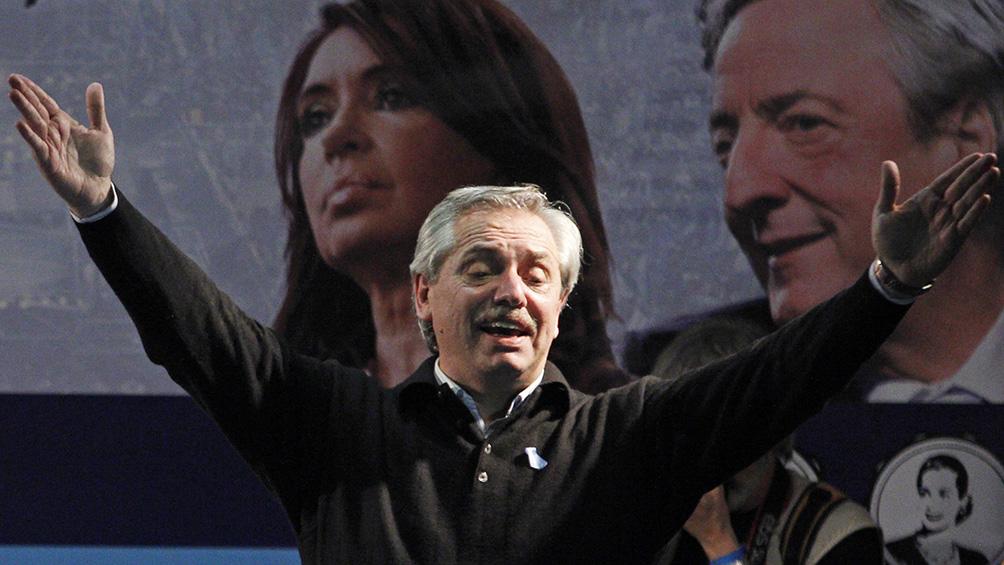 """Fernández quiere que """"la grieta se termine"""" y dice que no """"hablará de la herencia"""""""
