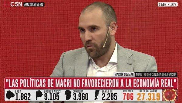 """martin-guzman:-""""no-hay-expectativa-de-que-haya-una-devaluacion-luego-de-las-elecciones"""""""