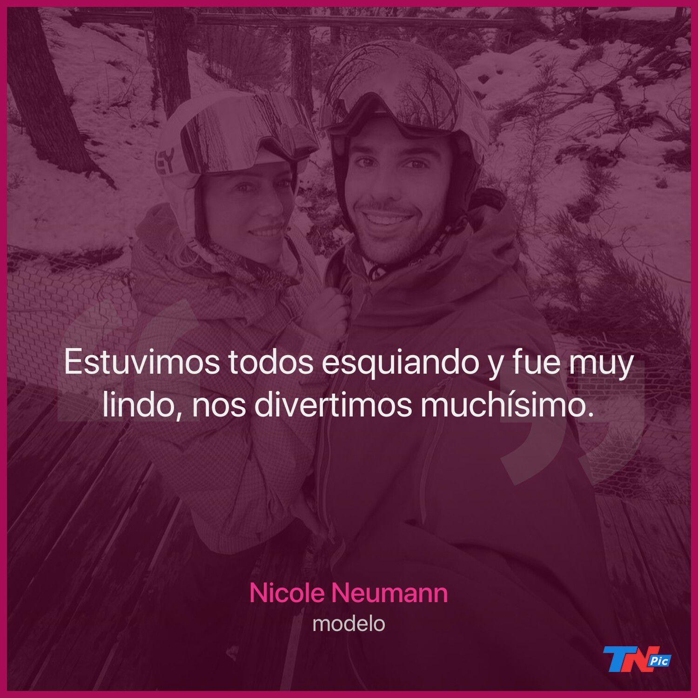 Nicole Neumann habló de la posibilidad de casarse y ser mamá junto a Juan Manuel Urcera